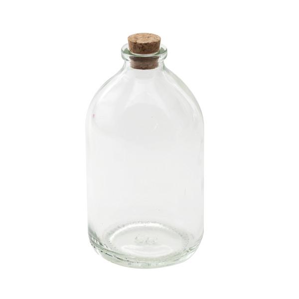 بطری دکوری طرح استوانه ای بسته ۳ عددی