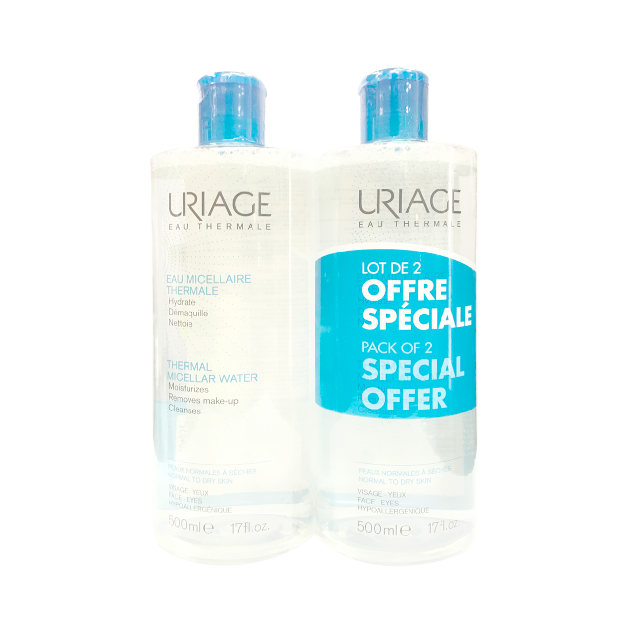 قیمت پاک کننده آرایش اوریاژ مدل normal to dry skin حجم 500 میلی لیتر بسته 2 عددی