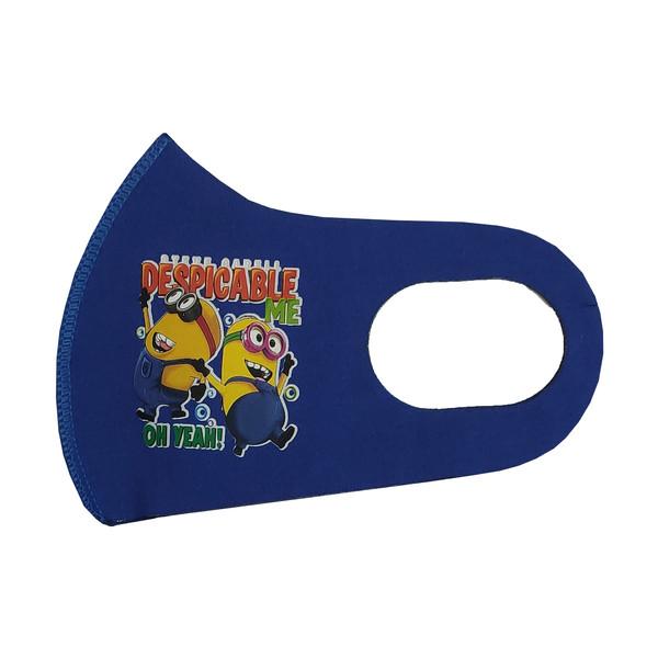 ماسک تزئینی صورت بچگانه طرح DESPICABLE کد 30681 رنگ آبی