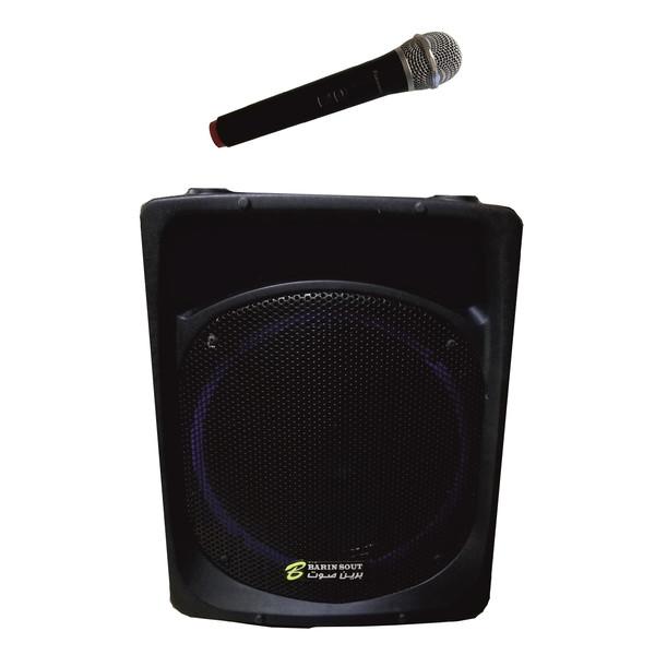 اکو پرتابل برین صوت مدل 12200 به همراه میکروفن بی سیم