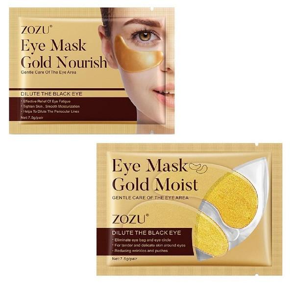 ماسک زیر چشم زوزو مدل Gold Moist وزن 7.5 گرم مجموعه 2 عددی