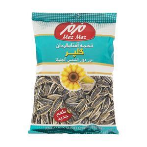 تخمه آفتابگردان مزمز با طعم گلپر مقدار 110 گرم