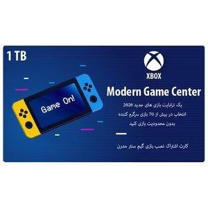 کارت اشتراک نصب بازی ایکس باکس وان گیم سنتر مدرن کد ۰۰۲