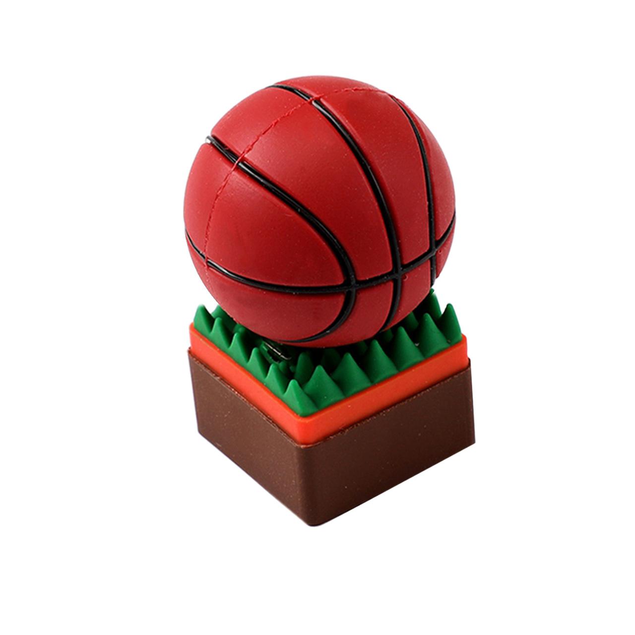بررسی و {خرید با تخفیف} فلش مموری طرح توپ بسکتبال روی چمن مدل DAYA1118 ظرفیت 16 گیگابایت اصل