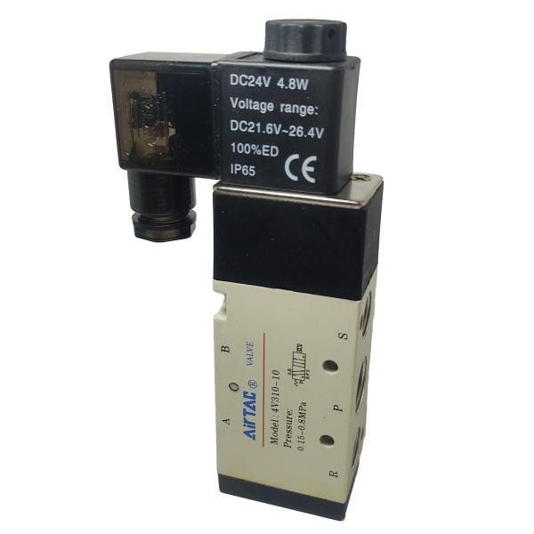 شیر برقی ایرتک مدل 4v310-10-3/8-24v