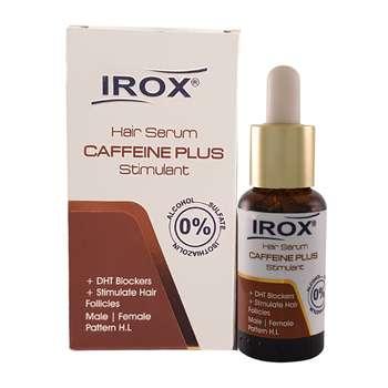 سرم مو ایروکس مدل Caffeine Plus حجم 30 میلی لیتر