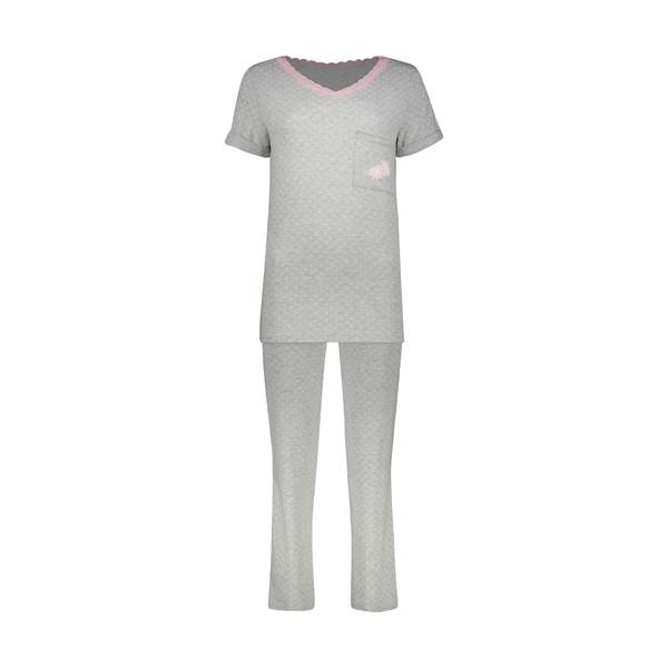 ست تی شرت و شلوار زنانه ناربن مدل 1521358-90