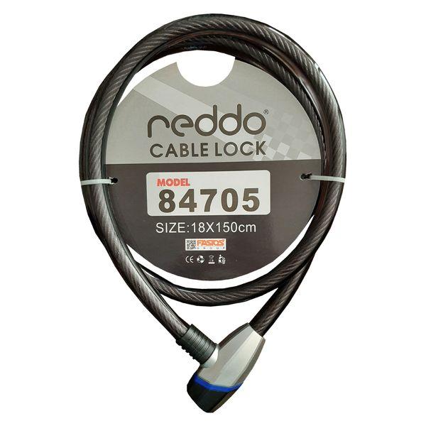 قفل موتور سیکلت کابلی ندو مدل NDO_BLK