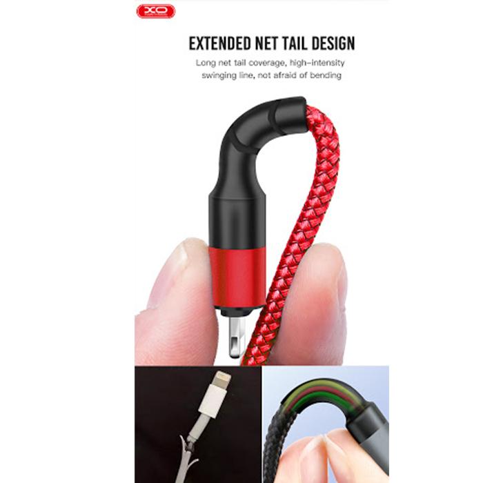 کابل تبدیل USB به USB-C ایکس او مدل NB 117 طول 0.25 متر