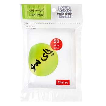 فیلتر چای چای سو کد M01 بسته 50 عددی