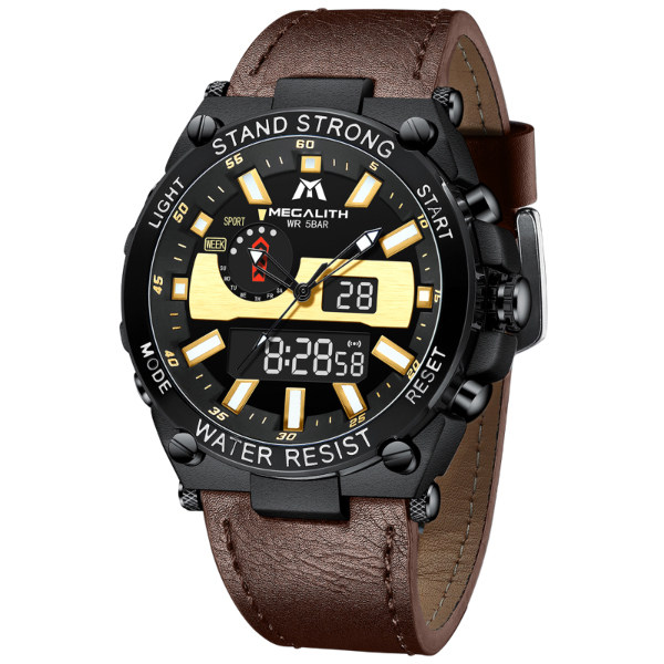ساعت مچی عقربهای مردانه مگالیت مدل 8230