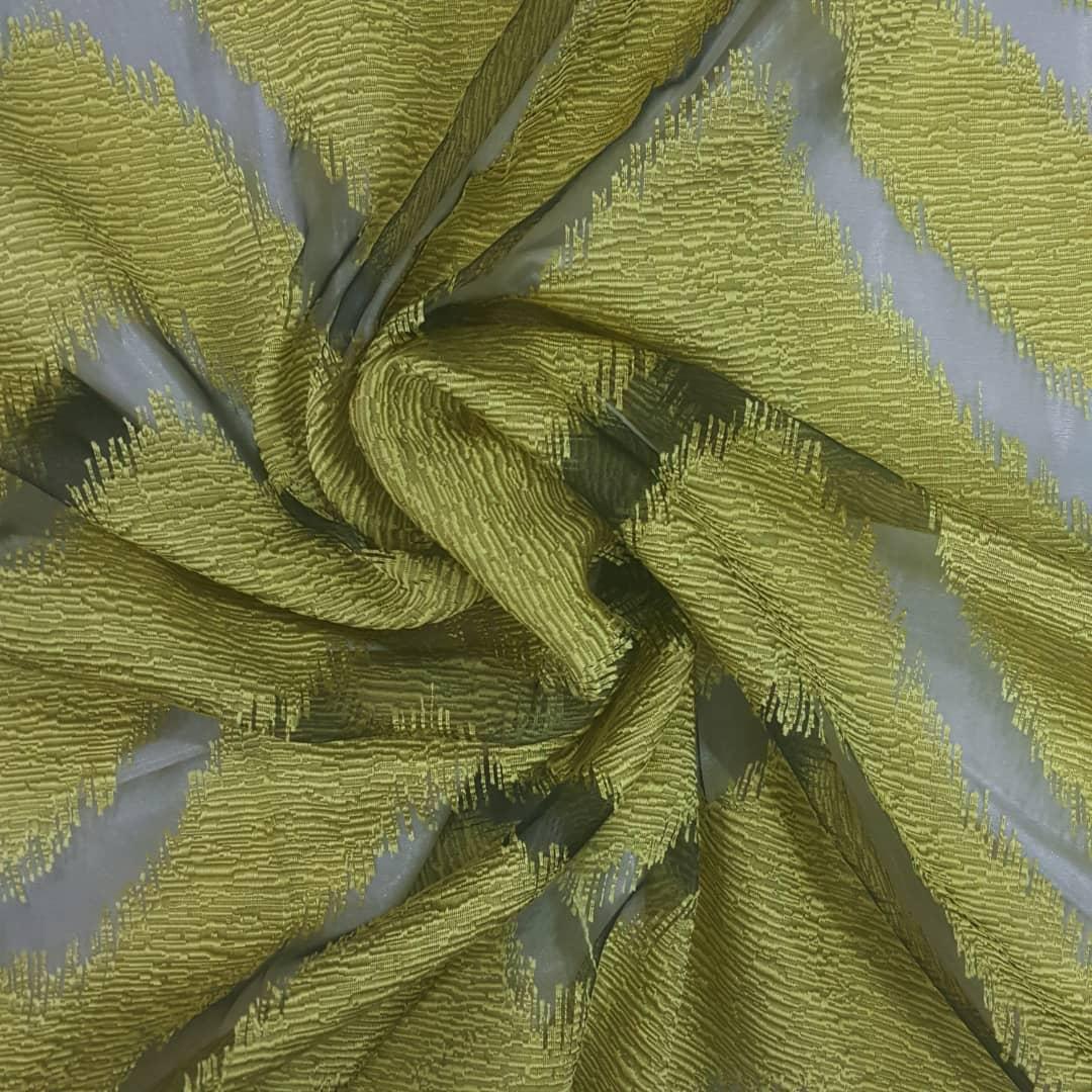 خرید                      پارچه لباس طرح موجی کد 1029