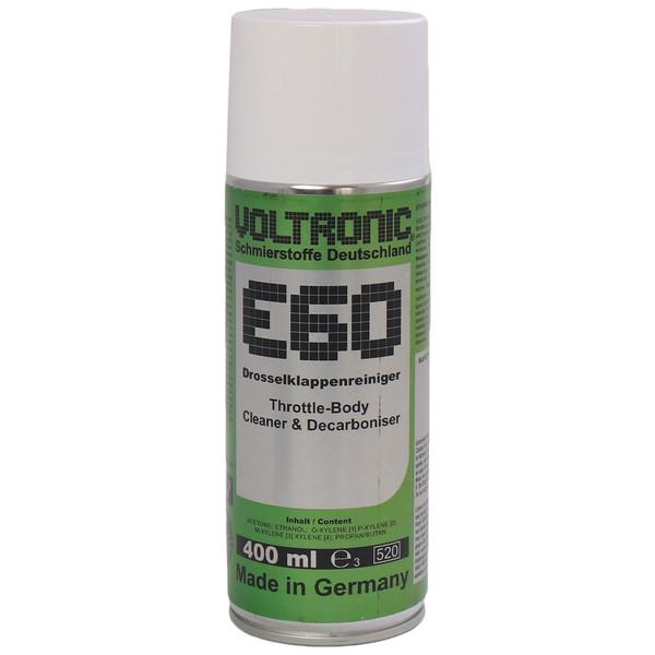پاک کننده دریچه گاز خودرو ولترونیک مدل E60 حجم 400 میلی لیتر