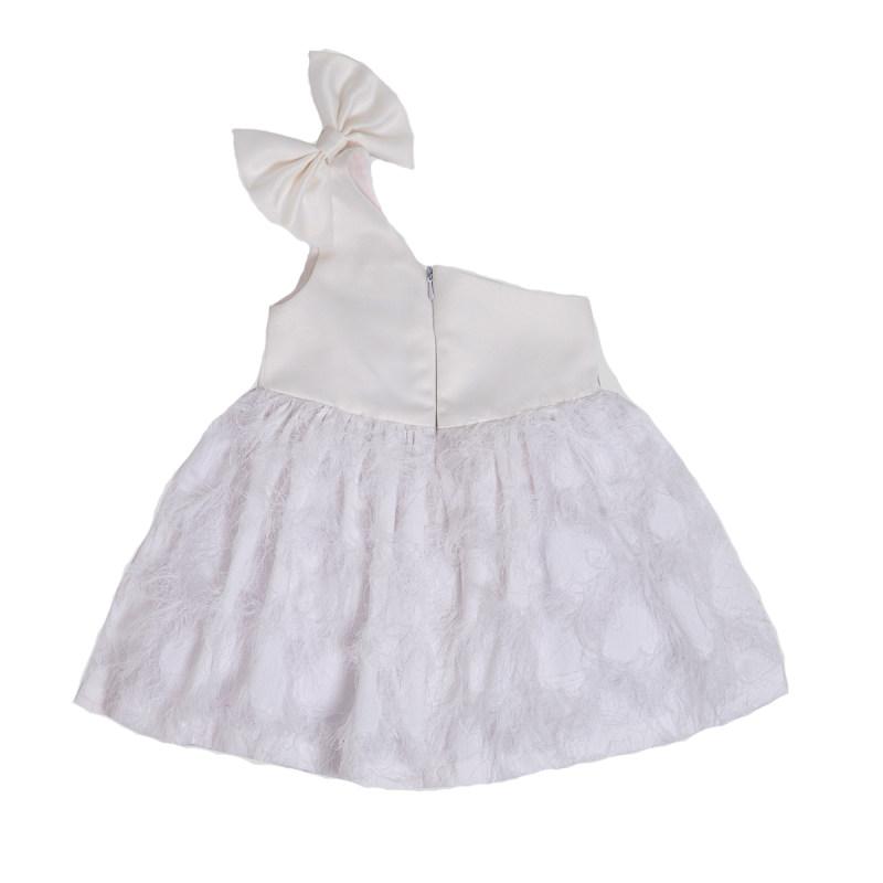 پیراهن نوزادی دخترانه فیورلا مدل 21208