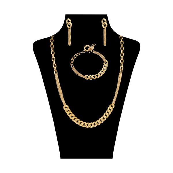 نیم ست طلا 18 عیار زنانه مایا ماهک مدل MS0555
