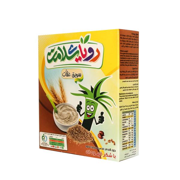 غلات صبحانه با شکر قهوه ای رویای سلامت -  200 گرم