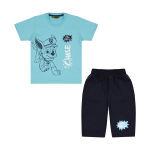 ست تی شرت و شلوارک پسرانه خرس کوچولو مدل 2011211-51