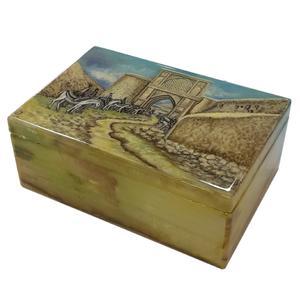 جعبه سنگی طرح دروازه شیراز کد 103