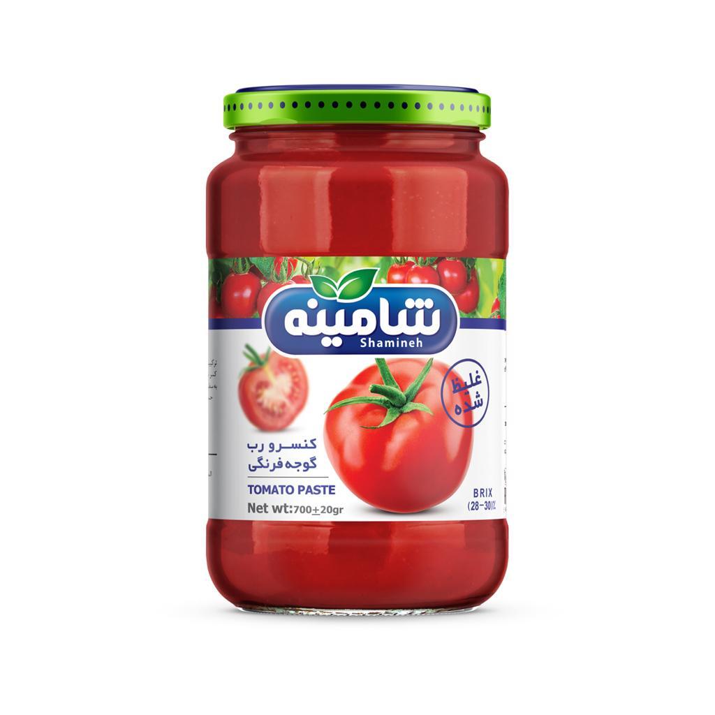 کنسرو رب گوجه فرنگی شامینه - 700 گرم