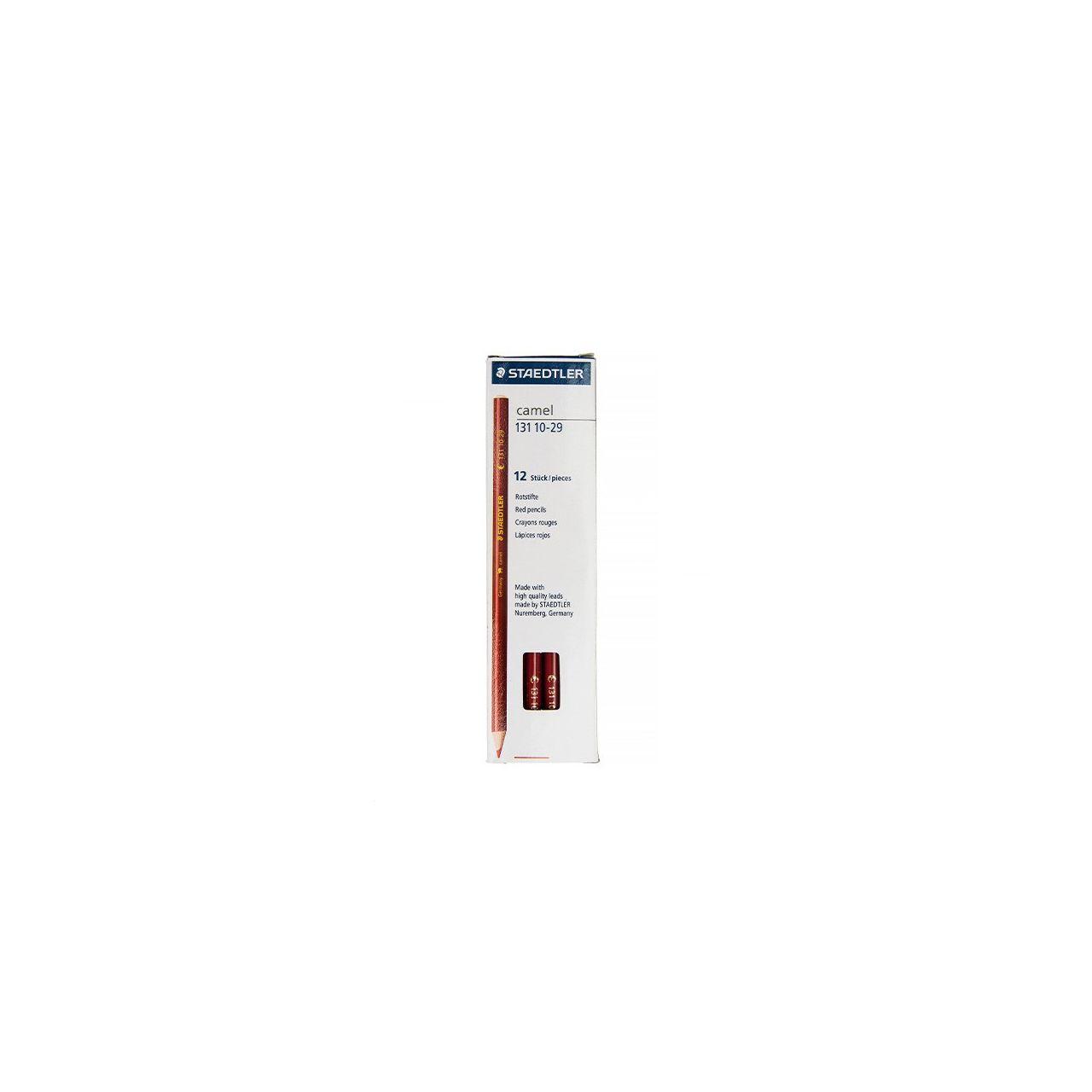 مداد قرمز استدلر مدل Camel بسته 12 عددی main 1 1