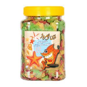 غذای پولکی ماهی امروز کد L109 وزن 120 گرم