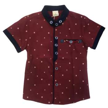 پیراهن پسرانه طرح ستاره کد b-3697