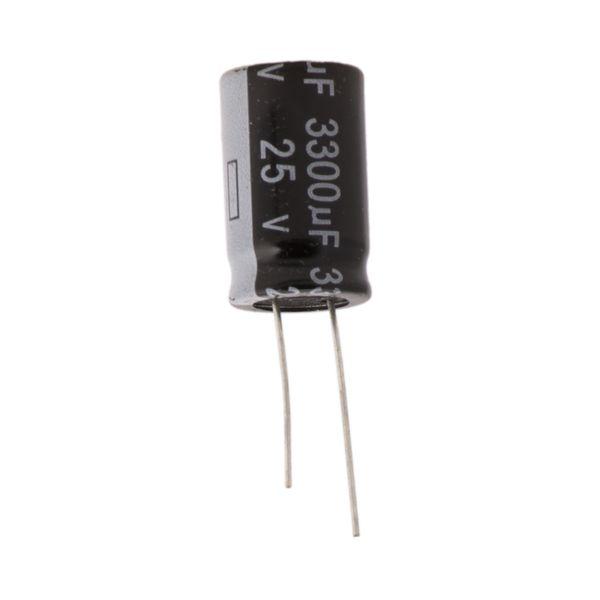 خازن الکترولیت 3300 میکرو فاراد کد 00037 بسته 2 عددی