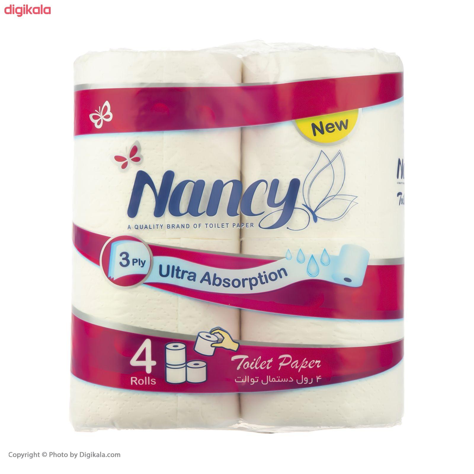 دستمال توالت نانسی بسته 4 عددی main 1 3