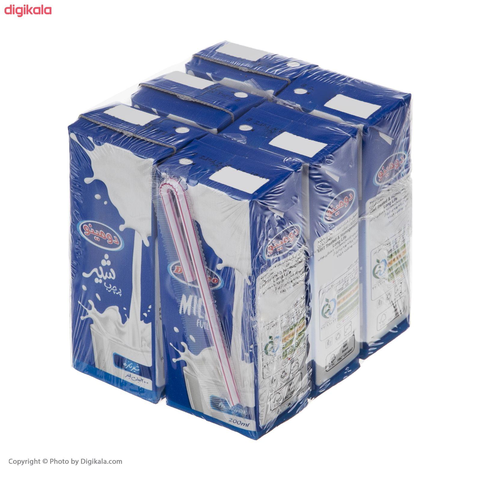 شیر پر چرب دومینو - 0.2 لیتر  بسته 6 عددی main 1 4