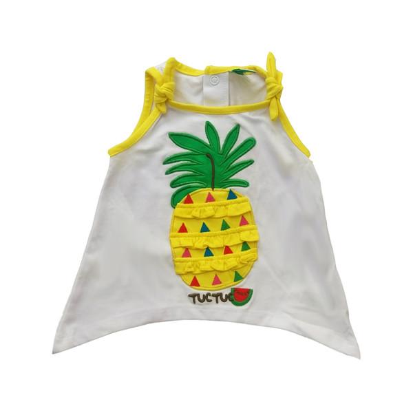 تاپ نوزادی توک توک طرح آناناس