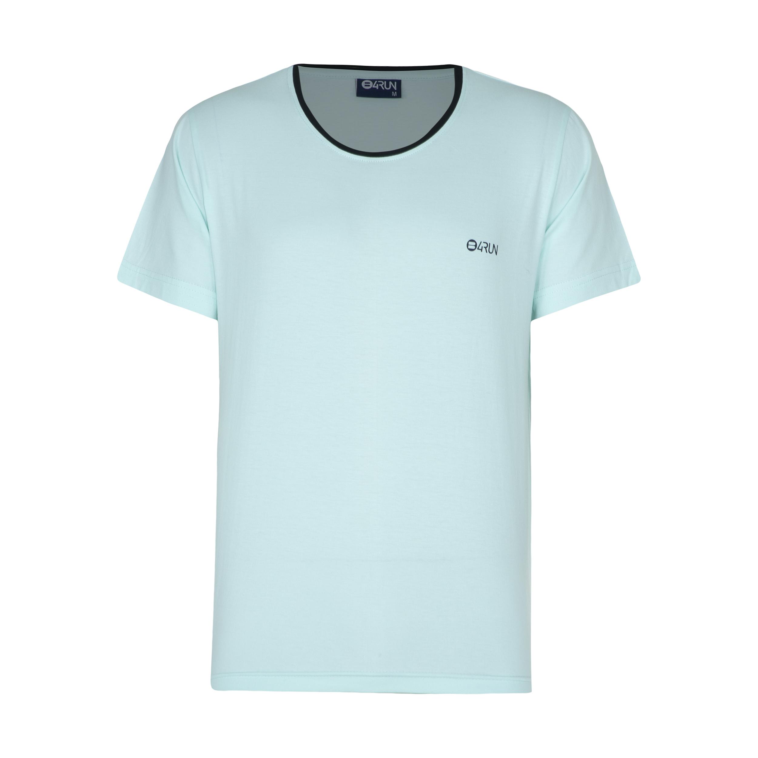 تی شرت ورزشی مردانه بی فور ران مدل 210312-54