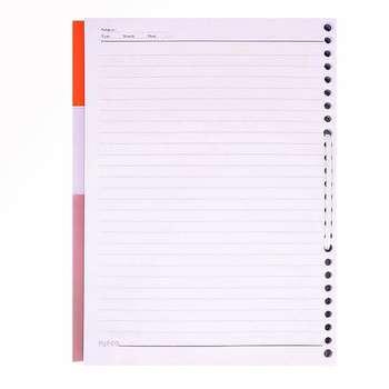 کاغذ کلاسوری پاپکو کد 009 بسته 100 عددی