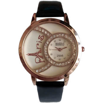 ساعت مچی عقربه ای زنانه مدل پاریس کد 2595