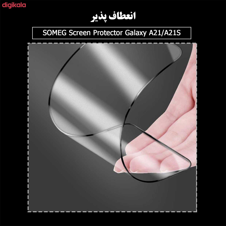 محافظ صفحه نمایش سرامیکی سومگ مدل Ruby-9 مناسب برای گوشی موبایل سامسونگ Galaxy A21 / A21s main 1 5