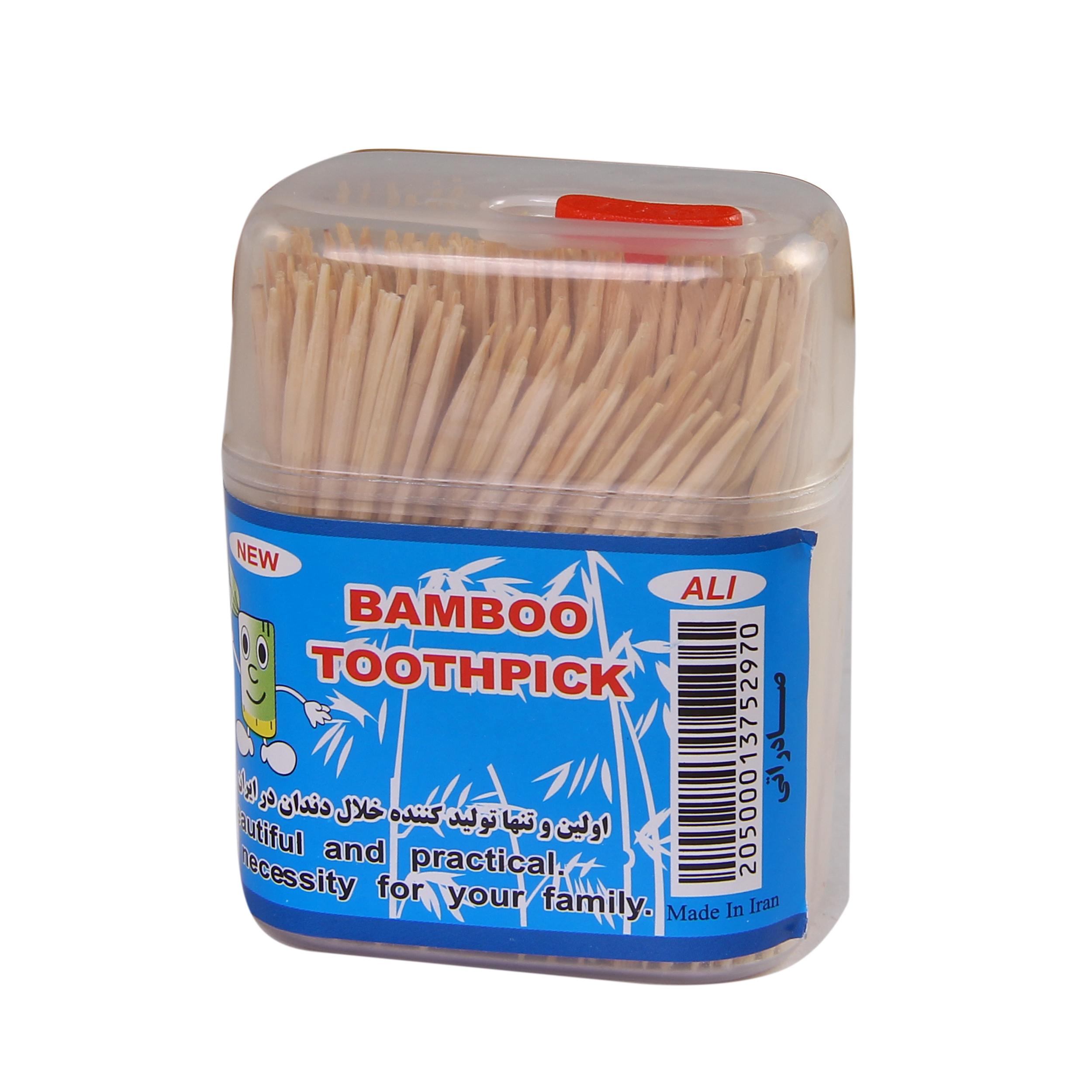 خلال دندان مدل 02 بسته 200 عددی