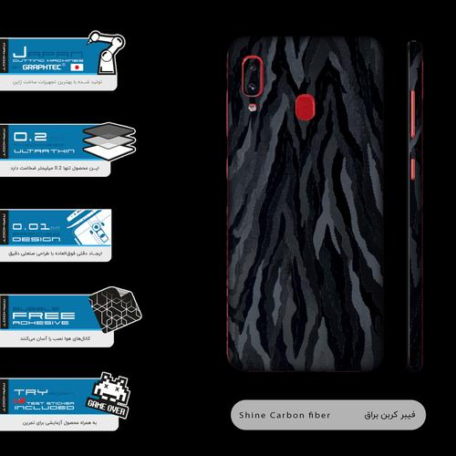 برچسب پوششی مدل Black-Swan مناسب برای گوشی موبایل سامسونگ Galaxy A20
