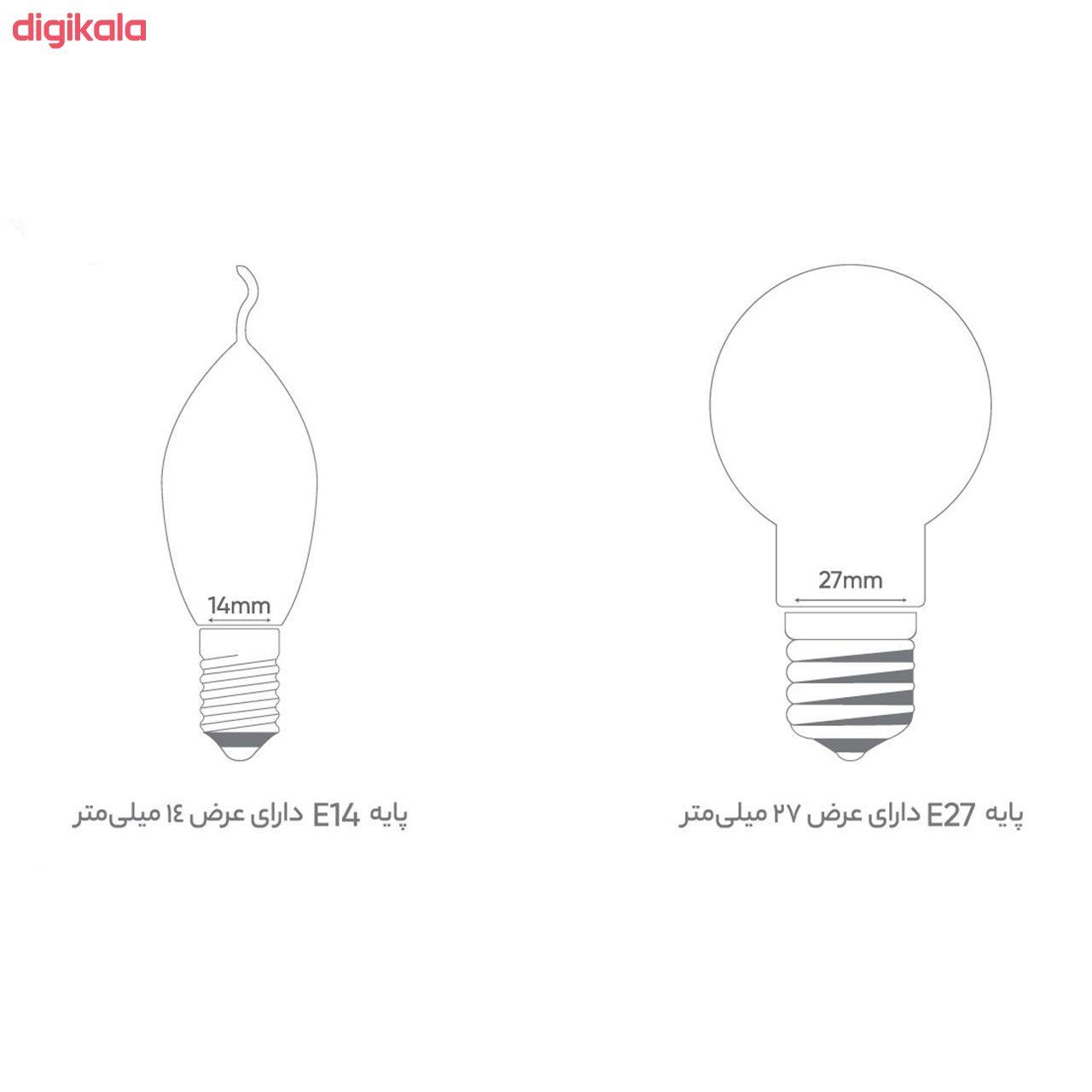 لامپ ال ای دی 7 وات بروکس پایه E14 بسته 3 عددی main 1 3