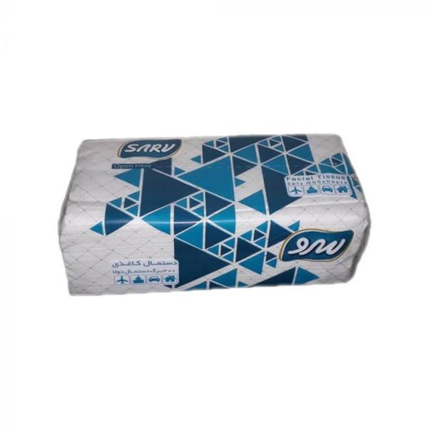 دستمال کاغذی 200 برگ سرو طرح مثلث