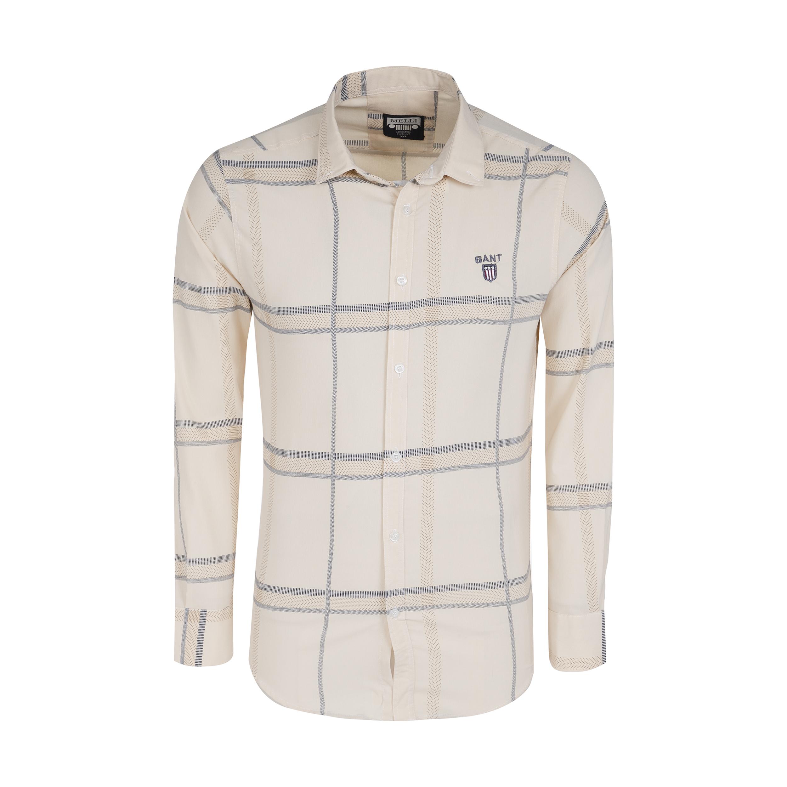 پیراهن آستین بلند  مردانه مدل 344005909                     غیر اصل