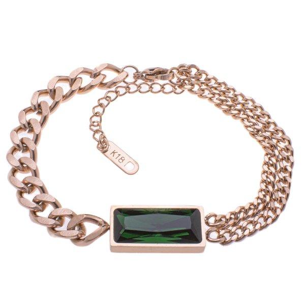 دستبند زنانه استینلس استیل مدل BDZ1017