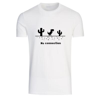 تیشرت آستین کوتاه مردانه طرح no connection کد T 364