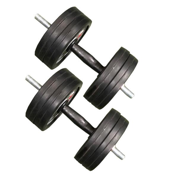 دمبل مدل آرسی وزن 10 کیلوگرمی بسته 2 عددی