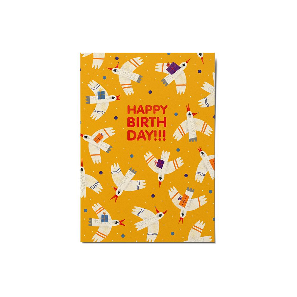 کارت پستال ماسا دیزاین مدل  stkv0536 تولدت مبارک