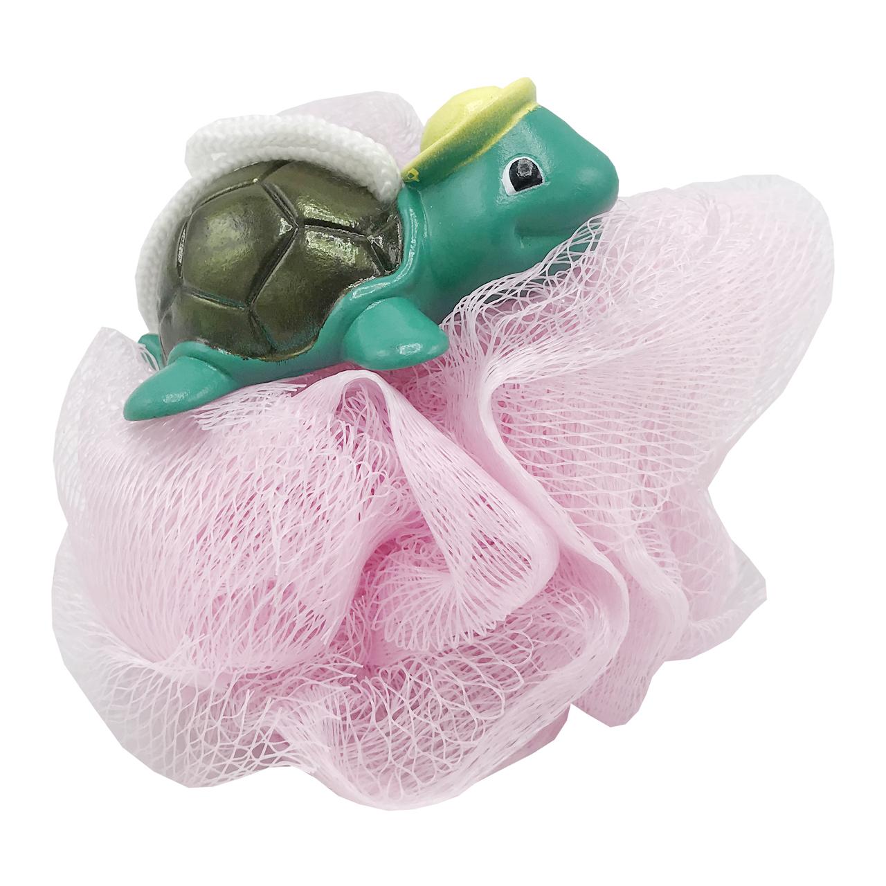 لیف حمام کودک مدل لاکپشت