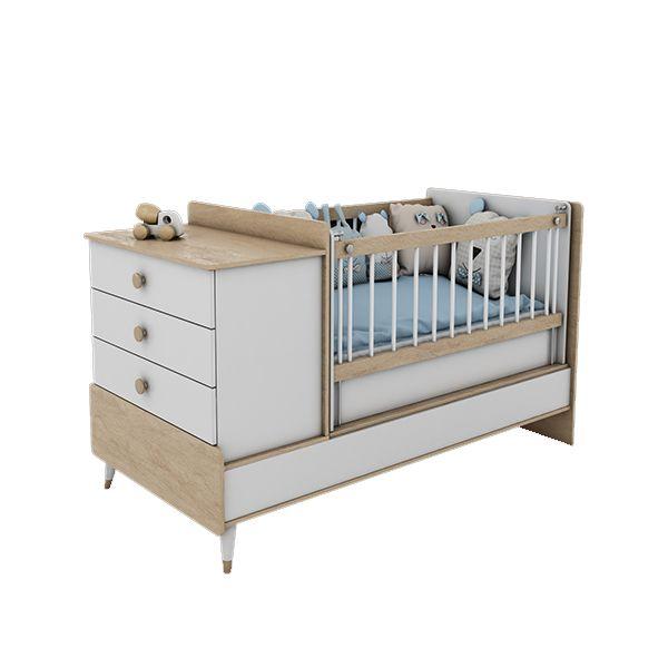 تختخواب کودک مدل کارن بامبینو