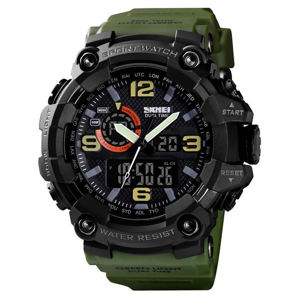 ساعت مچی دیجیتال مردانه اسکمی مدل 1520 AG