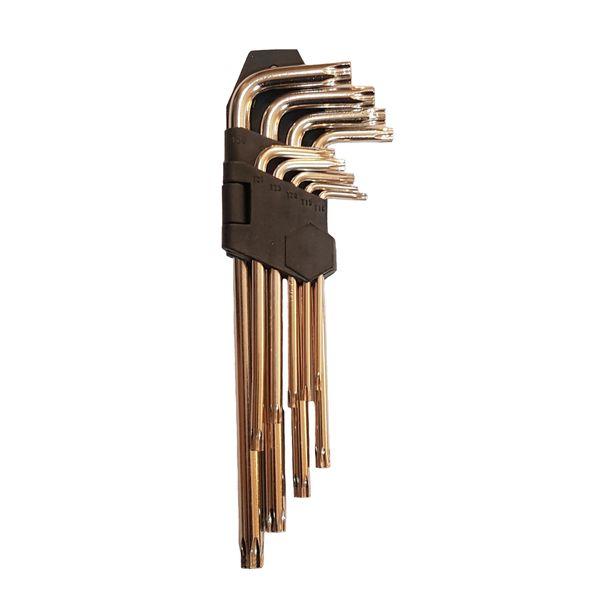 مجموعه 9 عددی آچار آلن ستاره ای اف تی تولز مدل FT-008