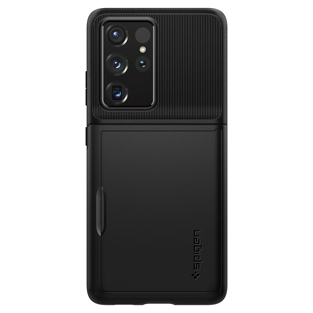 بررسی و {خرید با تخفیف} کاور اسپیگن مدل Slim Armor CS مناسب برای گوشی موبایل سامسونگ Galaxy S21 Ultra اصل