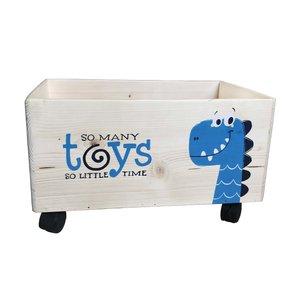 جعبه اسباب بازی کودک چوبکا مدل TB005