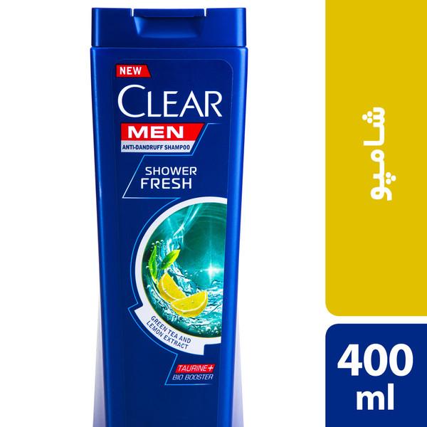شامپو ضد شوره آقایان کلییر مدل Shower Fresh حجم 400 میلی لیتر